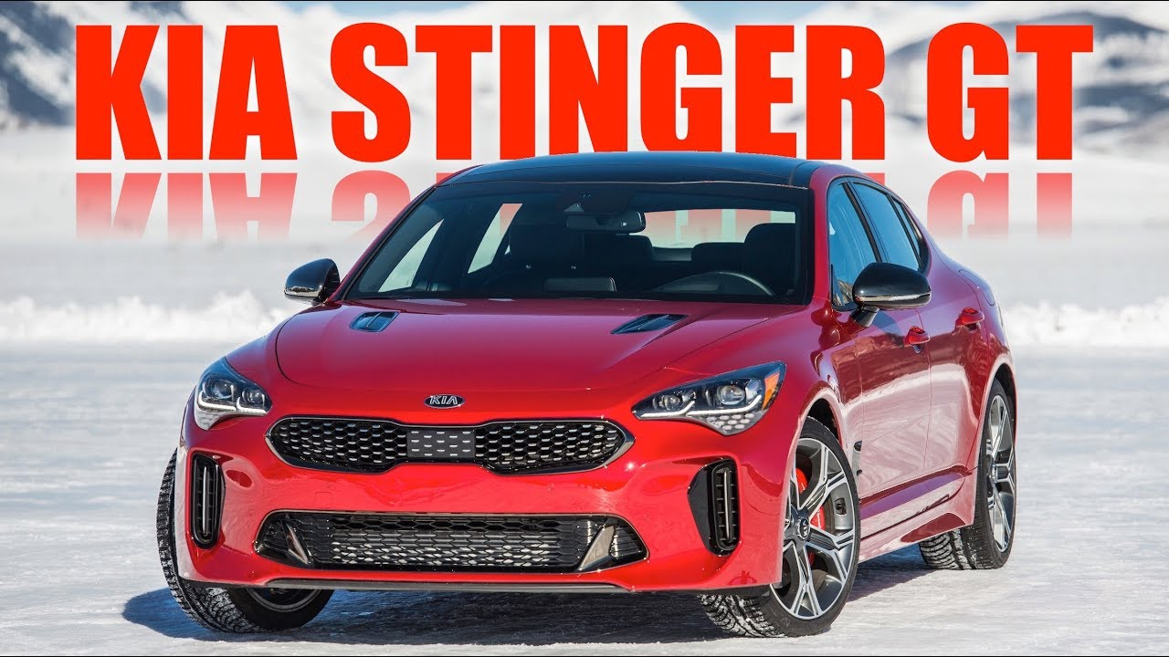 The Kia Stinger GT Is An Ego Check For Car Guys - YouTube