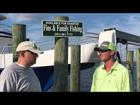 Off Shore Fishing With Fins And Family Fishing Charters In Orange Beach, AL