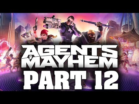 "Agents Of Mayhem - Let's Play - Part 12 - ""Caged Ice, Coldfinger"""