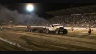 Crab Walk Sled Pull and TTC Pull Ford Powerstroke 6.0 Stanislaus County Fair SuperCrawler