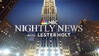 NBC Nightly News Debuts New Open & Graphics - HD