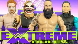 Braun Strowman vs The Fiend vs Jeff Hardy vs Sheamus WWE Extreme Rules 2020 Action Figure Match