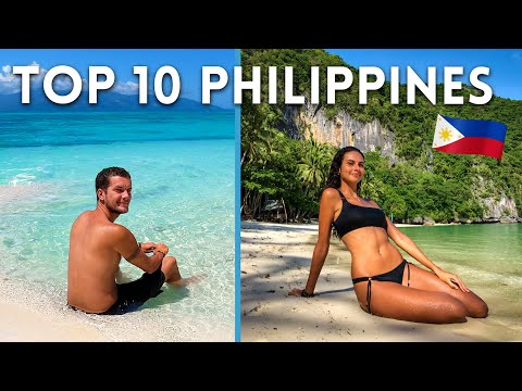 TOP 10 PHILIPPINES 🇵🇭 BEST TROPICAL DESTINATION IN THE WORLD!