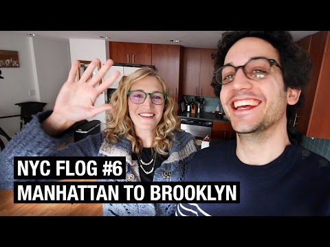 From Manhattan to Brooklyn ! NYC FLOG #6