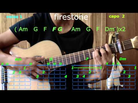 firestone kygo guitar chords