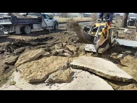 Concrete Demolition and Haul Away for Indianapolis Business