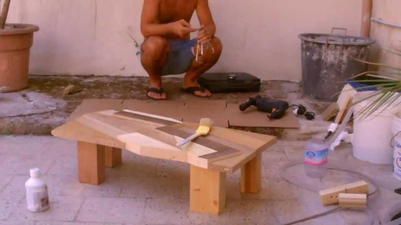 41° gradi all\'ombra - Come costruire un tavolo - YouTube