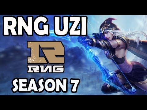RNG Uzi ASHE vs VARUS ADC Ranked Master Korea