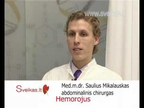 hemorojus ir hipertenzija kojų opos ir hipertenzija