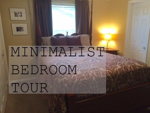 Minimalist bedroom tour family minimalism youtube for Minimalist bedroom tour
