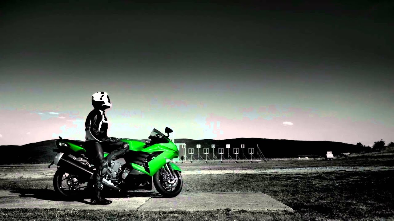 Kawasaki ZZR 1400 ZX14 2013 Official Action Movie Clip Werbung Commercial