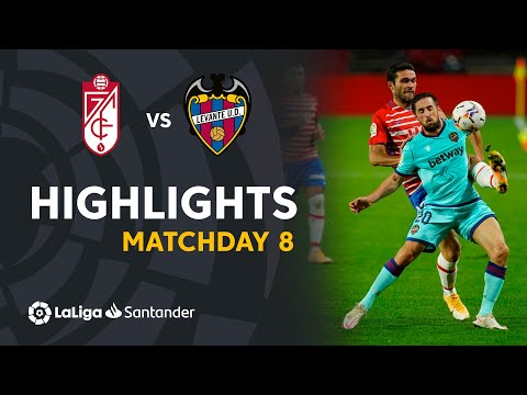 Granada Levante Goals And Highlights