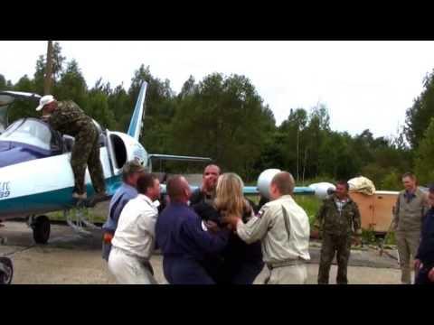 Первый самостоятельный полет Л-39 Зайцева Екатерина