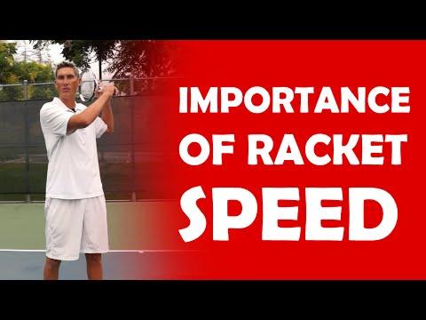Racket Speed (3/5) - TOP 5 GROUNDSTROKE FACTORS - 동영상