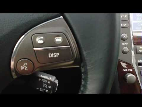 HOW TO PAIR YOU CELL PHONE ON A LEXUS ES 350