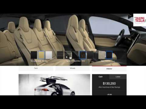 Tesla X Configuration