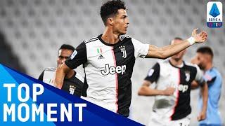 Ronaldo Brace Brings Juve Closer to the Title Juventus 2 1 Lazio Top Moment Serie A TIM