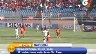 12 Selecciones disputarán 3a. fase de Eliminatoria Concacaf Rusia 2018