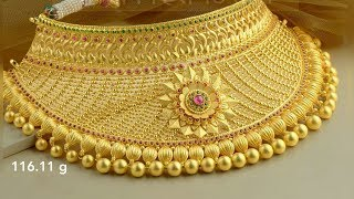 Latest Gold NECKLACE Designs With Weight