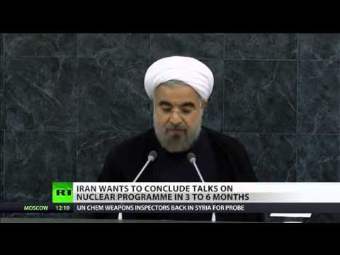 Nuclear Advance  Iran's Rouhani wants deal 'in 3 to 6 months