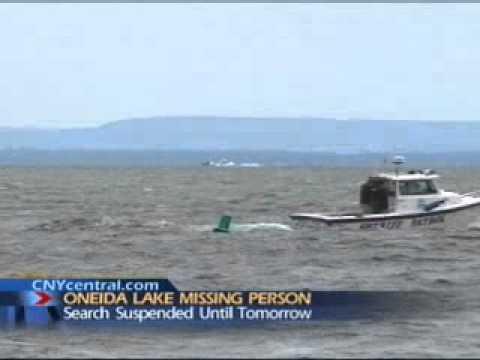 Search For A Body On Oneida Lake Sylvan Beach New York