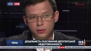 Евгений Мураев в «Вечернем Прайме» на телеканале «112 Украина», 22.06.17