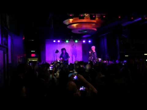 Billy Idol White Wedding Acoustic  at Turf Club 11915