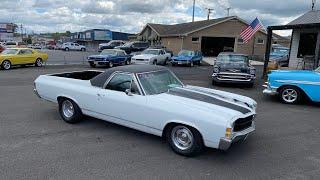 Test Drive 1971 Chevrolet El Camino $13,900 Maple Motors #1212-2