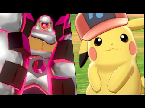 How To Get ALL 8 Event ASH HAT Pikachu + Gigantamax Melmetal & SHINY Event! - Pokemon Sword & Shield