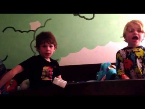 Let it go mishap: performed by 5 & 6 yr old brothers