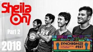 Video Sheila On 7, Synchronize Fest 2018 download MP3, 3GP, MP4, WEBM, AVI, FLV Oktober 2018