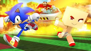 Minecraft - WHO'S YOUR DADDY? - SONIC vs Dr. EggMan (Sonic The Hedgehog)