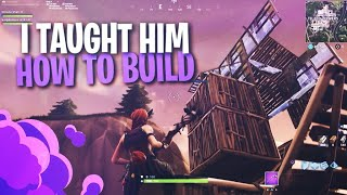 Taught Him How To Build And He Turned Into This