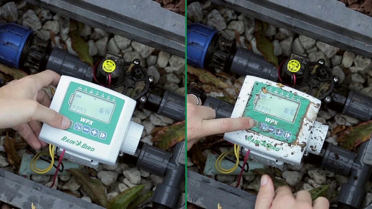 Rain Bird Wpx Centralina Programmatore A Batteria Professionale Da Pozzetto