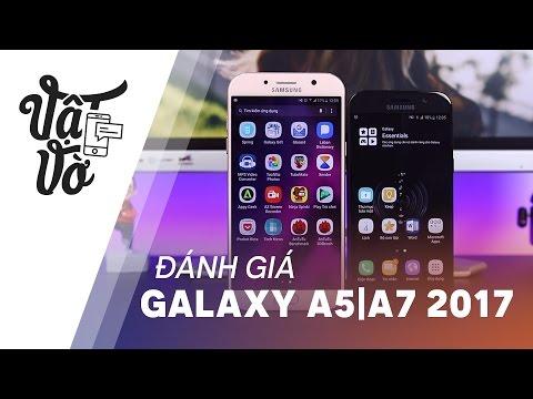 Vật Vờ  Đánh giá chi tiết Samsung Galaxy A5 A7 2017