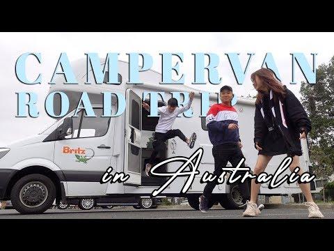 Take Me To Australia - MY FIRST CAMPERVAN ROAD TRIP!!!😱