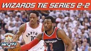 Wizards Tie Series 2-2 Reaction | Hoops N Brews