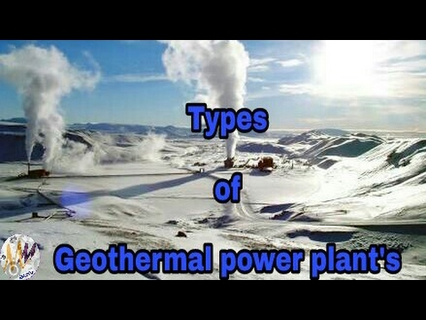 Types of geothermal systems in Telugu