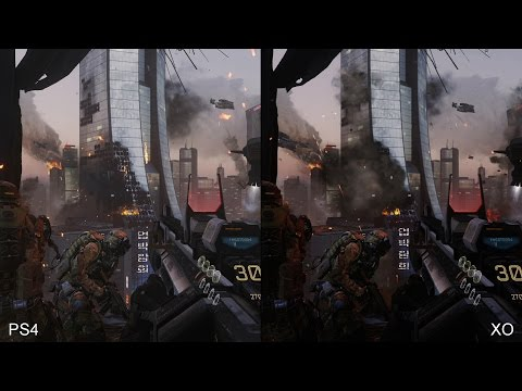 Call of Duty: Advanced Warfare: PS4 vs Xbox One comparison