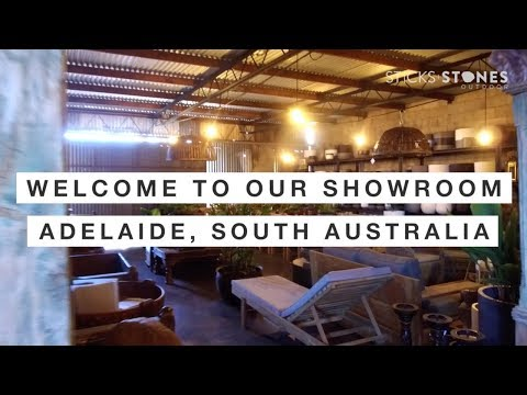 Inside our Sticks and Stones Outdoor Adelaide Showroom