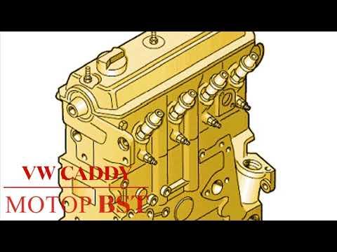 Регулировка форсунок - VW CADDY. МОТОР BST