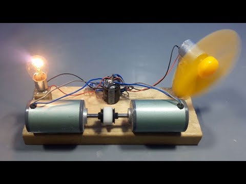 100% Real Free energy generator New technology _ science project