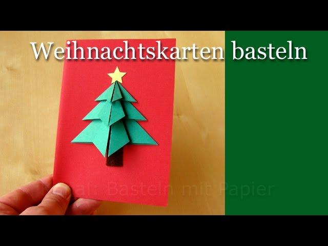Weihnachtskarten Basteln Kinderspiele Welt De 7
