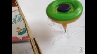 BEYBLADE with Pencil Tip! Drawing Bey!?