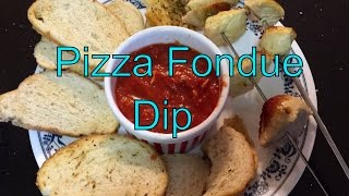 Pizza Fondue Dip Recipe