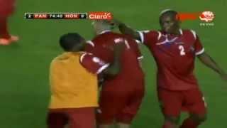 Panamá VS Honduras 2-0 Final (Partido Eliminatorio) Hexagonal CONCACAF Brazil 2014