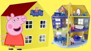 Nick Jr. New Peppa Pig Family Home Playset with Fu...