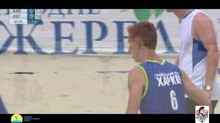 LegionXXI - Харьков (обзор голов) Пляжный гандбол, мужчины Чемпионат Украины