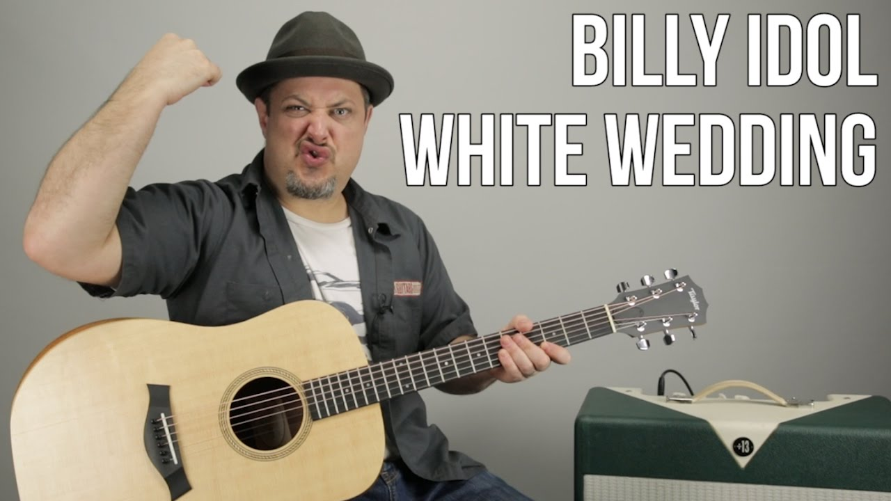 White Wedding Chords.How To Play Billy Idol White Wedding On Guitar Guitar Lesson Tutorial