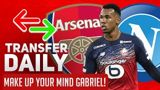 Make Up Your Mind Gabriel! | AFTV Transfer Daily